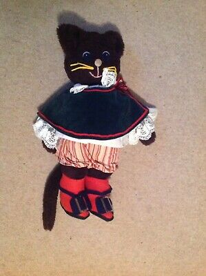 Large Cuddly vintage Puss In Boots Preowned