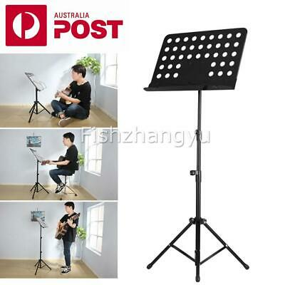 Heavy Duty Large Metal Adjustable Music Conductor Folding Music Sheet Stand AU