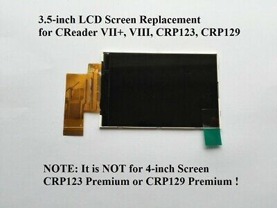 LCD SCREEN for LAUNCH CReader VII+,VIII,CRP123,CRP129 + Replacement Instructions