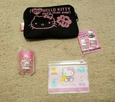 New Hello Kitty Pouch and Sharpener (3 Items In Set)