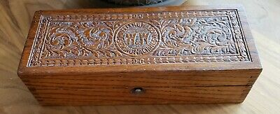Antique Authentic Wheeler And Wilson Sewing Machine Accessory Box Good condition