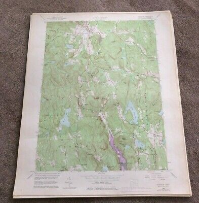 1969 Norfolk Connecticut Geological Map