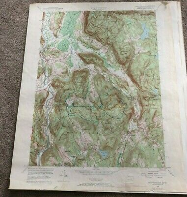 1969 South Canaan Connecticut Geological Map