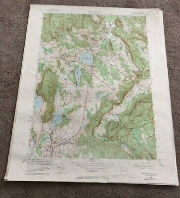 1969 Sharon Connecticut Geological Map