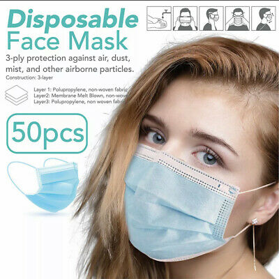 Protective Face Mask (10PC) [SHIP FROM USA]