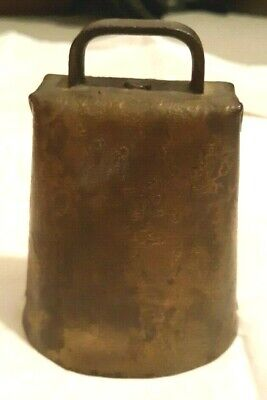 Vintage Brass Cowbell