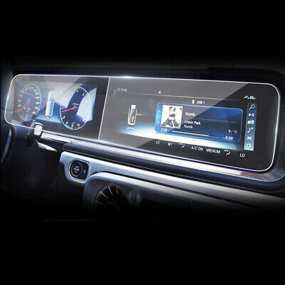 Car GPS Navigation Screen Protector Glass Film for Mercedes-Benz S-Class W222