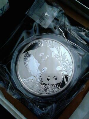 2012 5 Oz Silver China Panda Singapore Show Box & COA  - Very low mintage 2,500