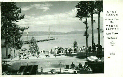 1948 postcard Lake Tahoe from the Tahoe Tavern California USA