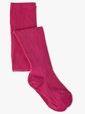 YOUNG GIRLS AGE 3-4 YEARS (98cm-104cm) THICK WARM COTTON RICH TIGHTS CERISE  NEW