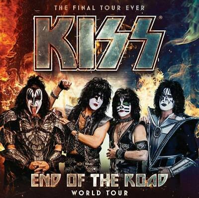 KISS - End of the Road Tour 2020 - 4x Tickets Dortmund 14.06.2020 Westfalenhalle