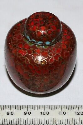 Cloisonne Small Vase - Bottle with top (p002)