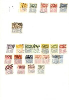 [OP1499] Worldwide lot of stamps on 12 pages