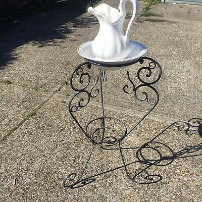 Wrought Iron Wash Stand