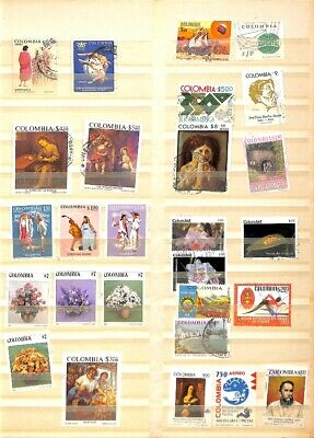 [OP1500] Worldwide lot of stamps on 12 pages