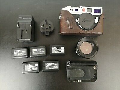 Leica M M8.2 10.3MP Digital Camera - Silver with Lens & Extra Upgrades
