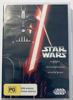 Star Wars Trilogy A New Hope / Empire Strikes Back / Return Of The Jedi DVD