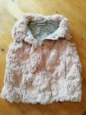 Girls Furry Gillet - Age 3 years *Absolutely stunning* Great condition * Next