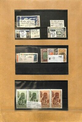 [OP1518] Worldwide lot of stamps on 12 pages