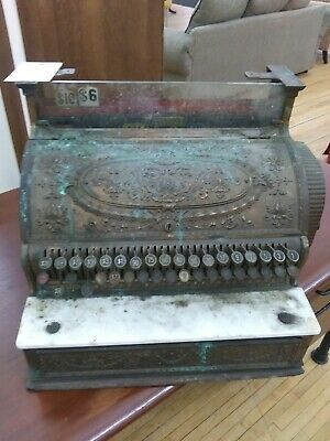 Antique National Cash Register Partially Cleaned Low Price Pick up Chicago
