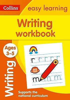 Kids writing work-book Children/Toddler pre-school English learning Educational