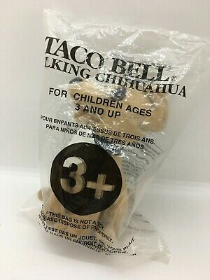 """Taco Bell TALKING Chihuahua Plush Dog """"You Are Getting Hungry"""" SEALED - NEW"""
