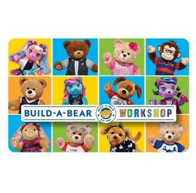 £100 BUILD-A-BEAR Gift E-Card Voucher