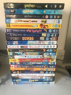 Joblot Children's Film Bundle - 22 Kids Films on DVDs- Region 2