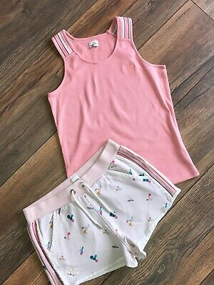 No Added Sugar Cotton Shorts & Matching Top Set 11-12y