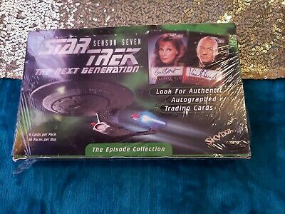 Star Trek The Next Generation Trading Cards.  The Episode Collection skybox