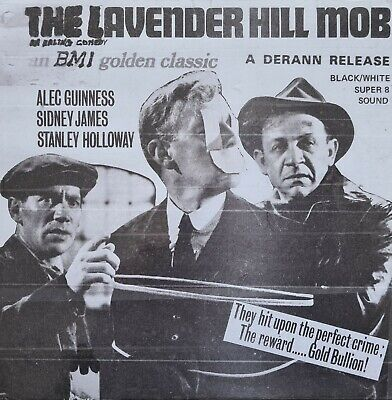 The Lavender Hill Mob, Super 8Mm Black And White Sound 400Ft
