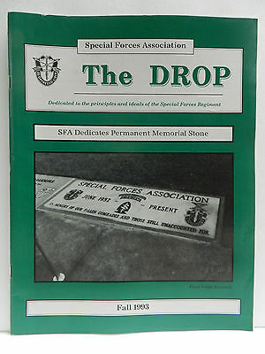 """""""Green Beret"""" The Drop Magazine, Fall 1993 Issue, Special Forces Association"""