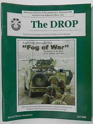 """""""Green Beret"""" The Drop Magazine, Fall 2008 Issue, Special Forces Association"""