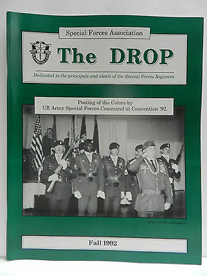 """""""Green Beret"""" The Drop Magazine, Fall 1992 Issue, Special Forces Association"""