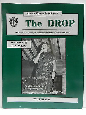 """""""Green Beret"""" The Drop Magazine, Winter 1994 Issue, Special Forces Association"""