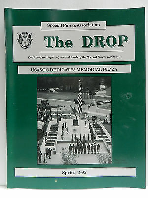 """""""Green Beret"""" The Drop Magazine, Spring 1995 Issue, Special Forces Association"""