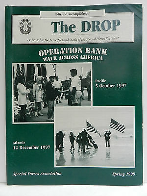 """""""Green Beret"""" The Drop Magazine, Spring 1998 Issue, Special Forces Association"""