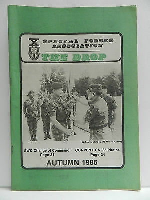 """""""Green Beret"""" The Drop Magazine, Autumn 1985 Issue, Special Forces Association"""
