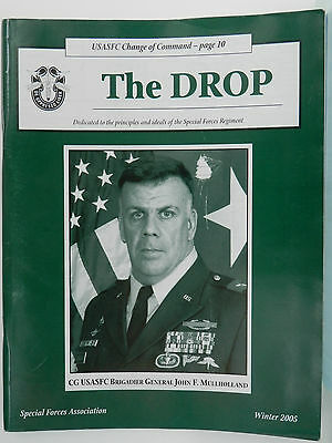 """""""Green Beret"""" The Drop Magazine, Winter 2005 Issue, Special Forces Association"""