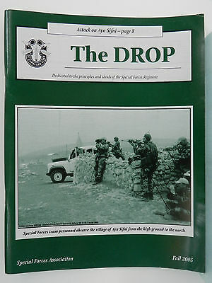 """""""Green Beret"""" The Drop Magazine, Fall 2005 Issue, Special Forces Association"""