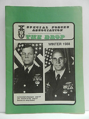 """""""Green Beret"""" The Drop Magazine, Winter 1988 Issue, Special Forces Association"""