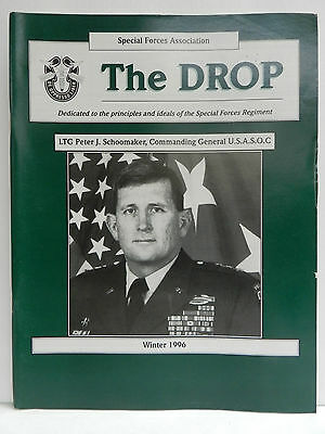 """""""Green Beret"""" The Drop Magazine, Winter 1996 Issue, Special Forces Association"""