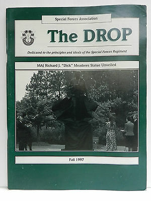 """""""Green Beret"""" The Drop Magazine, Fall 1997 Issue, Special Forces Association"""