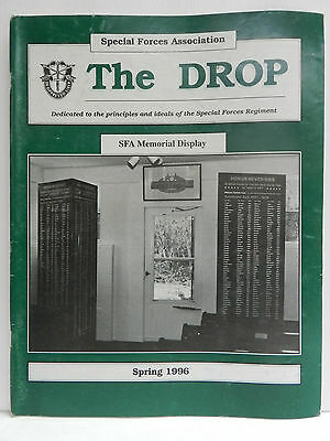 """""""Green Beret"""" The Drop Magazine, Spring 1996 Issue, Special Forces Association"""