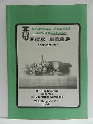 """""""Green Beret"""" The Drop Magazine, Dec. 1982 Issue, Special Forces Association"""
