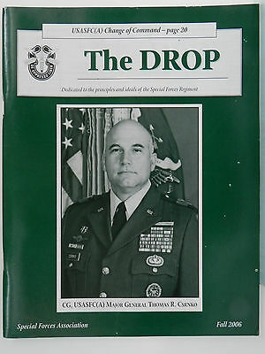 """""""Green Beret"""" The Drop Magazine, Fall 2006 Issue, Special Forces Association"""