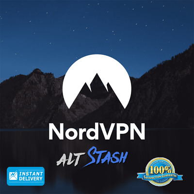 NordVPN Premium LIFETIME PLAN🔒 | Worldwide🌎 | INSTANT Delivery 🚚 | Warranty✔