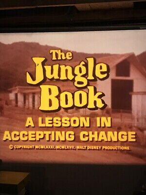 A Lesson in Accepting Change with The Jungle Book 16mm Cartoon