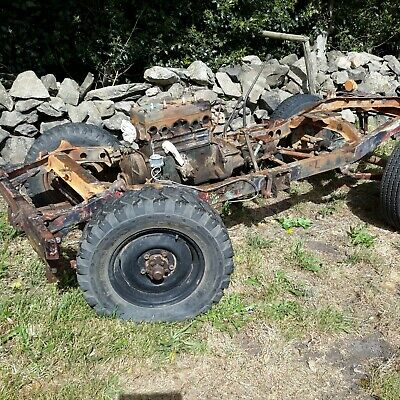 Willys Jeep 1942 Ford GPW jeep classic car military vehicle barn find