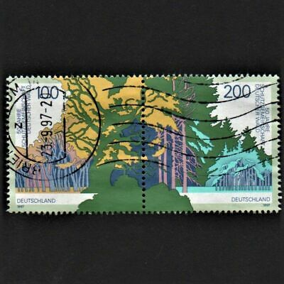 OLD STAMPS GERMANY 1997 cv£7.25 PROTECTION OF GERMAN FOREST ANNIVERSARY USED